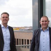 v.l.n.r. Udo Lorenz (GWS), Frank Beitelmann (OSG)